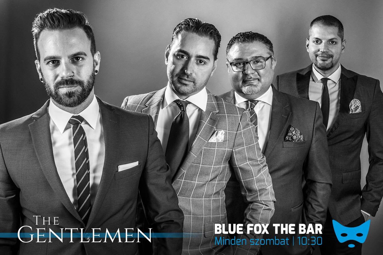 The Gentlemen - live at Blue Fox The Bar Budapest